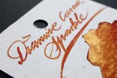 Diamine Shimmering Edition - Carmel Sparkle